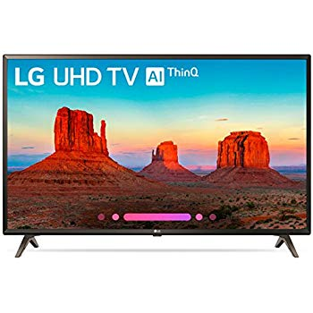 LG 43-inches 4K UHD LED Smart TV - (43UK6360PTE)